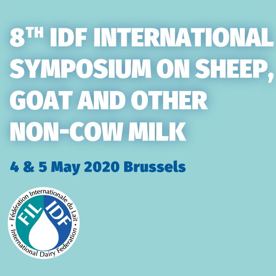 8th IDF International Symposium on sheep, goat and other non-cow milk